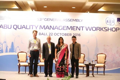 Bali - Quality certification a major interest from executives of media corporations in the Asia-Pacific