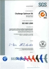 Certification ISO 9001 de Challenge Optimum S.A.