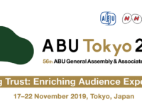 ABU GA 2019 - Tokyo - Nov 19th 2019: Prof. Shiba, quality champion, unveils key levers to build media trust and enrich audience experience Quality management workshop, Hyatt Regency, Shinjuku