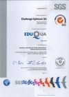 Certification EduQua de Challenge Optimum S.A.